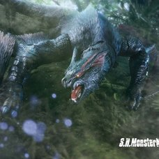 S.H.MonsterArts Monster Hunter Nargacuga