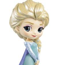 Q Posket Disney Characters Frozen Elsa: Glitter Line