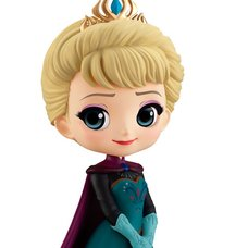 Q Posket Disney Characters Elsa: Coronation Style (ver.A) (Re-run)