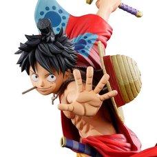 One Piece Banpresto World Figure Colosseum 3 Super Master Stars Piece Monkey D. Luffy: Manga Dimensions (Re-run)