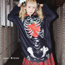 ACDC RAG Strawberry Hoodie Dress