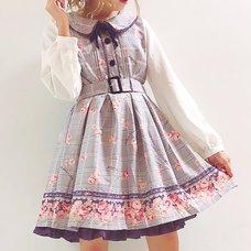 LIZ LISA Glen Check Rose Dress