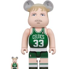 BE@RBRICK Boston Celtics Larry Bird 100% & 400% Set