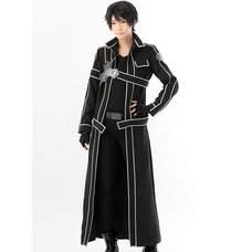 Sword Art Online The Black Knight Kirito Costume