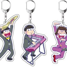 "Osomatsu-san ""Tonight is the Best"" Acrylic Keychain Charm Collection"