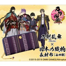 Touken Ranbu -Online- Japanese Fabric Long Wallet Collection Vol. 2