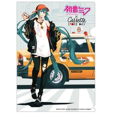 Hatsune Miku x Cassette Store Day Acrylic Clear File