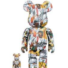 BE@RBRICK Jean-Michel Basquiat 100% & 400%