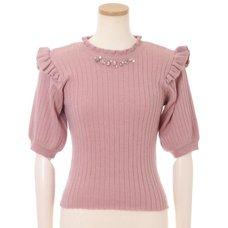 LIZ LISA Rib Knit Top