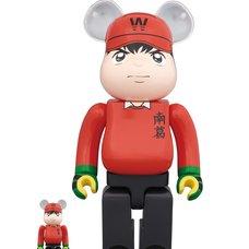 BE@RBRICK Captain Tsubasa Genzo Wakabayashi 100% & 400% Set