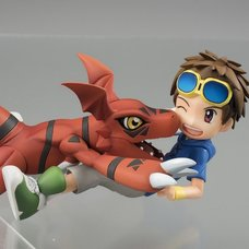 G.E.M. Series Digimon Tamers Guilmon & Takato Matsuda (Re-run)