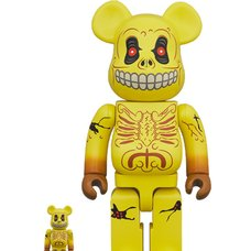 BE@RBRICK Madballs Skull Face 100% & 400% Set