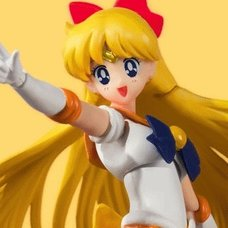 S.H.Figuarts Pretty Guardian Sailor Moon Sailor Venus: Animation Color Edition