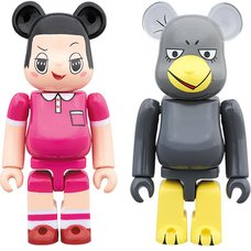 BE@RBRICK Chico Will Scold You! Chiko-chan & Kyoe 100% 2-Pack