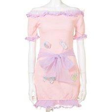 Swankiss Dream Baby Story Short Dress
