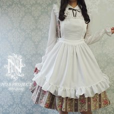 NO.S PROJECT Frill Apron