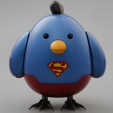 Q-mech x DC Comics Battle Chicken Superman Ver.