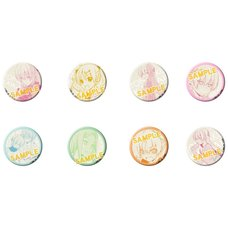 Tonikaku Kawaii Character Badge Collection Box Set