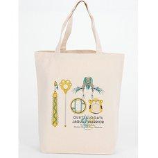 Fate/Grand Order - Absolute Demonic Front: Babylonia Quetzalcoatl & Jaguar Warrior Tote Bag