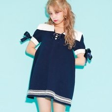 Swankiss Sailor Fleece-Lined Dress