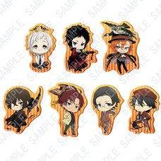 Bungo Stray Dogs Birds of Autumn Clear Clip Badge Collection Complete Box Set