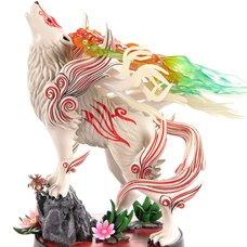 Okami Shiranui Statue: Celestial Howl