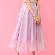 Honey Salon Organdy Flared Skirt