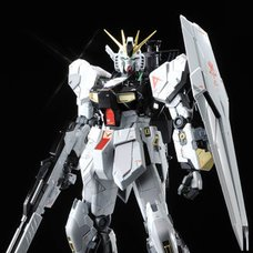 MG Nu Gundam Ka Ver. Titanium Finish 1/100th Scale Action Figure Kit