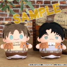Attack on Titan Mame-Mate Plush Keychain Collection
