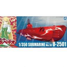 Arpeggio of Blue Steel Special Attack Type Submarine U-2501 1/350 Plastic Model Kit