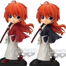 Q Posket Rurouni Kenshin: Meiji Swordsman Romantic Story Kenshin Himura