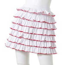 Swankiss Frilly Fitted Skirt