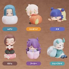 The Legend of Hei Collectible Figures: Wagashi Box Set