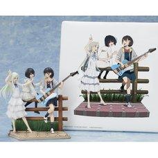 Super Peace Busters Premium Box Canvas Art & Vignette Figure Set