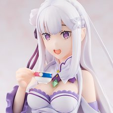 Re:Zero -Starting Life in Another World- Emilia: Tea Party Ver. 1/7 Scale Figure