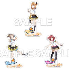 Love Live! Sunshine!! Unit CYaRon! Acrylic Stand Collection