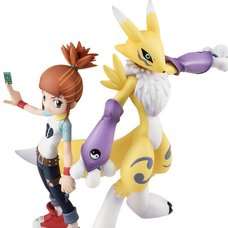 G.E.M. Series Digimon Tamers Renamon & Ruki Makino (Re-run)