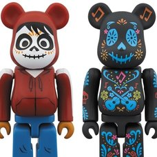 BE@RBRICK Coco & Miguel 100% Set