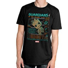 POP! Tees: Guardians of the Galaxy Groot Line Up T-Shirt
