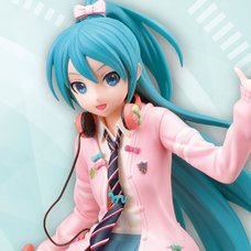 Hatsune Miku: Project DIVA Arcade Future Tone Hatsune Miku: Ribbon Girl Ver. Super Premium Figure