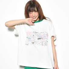 Love Live! Sunshine!! White Board White T-Shirt