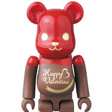 BE@RBRICK 2017 Valentine Chocolat Framboise 100%