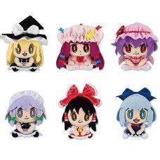 Touhou Project Chimarinzu Mascot Plush Collection