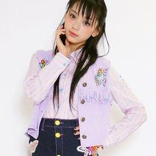 galaxxxy Pastel Stripe Shirt