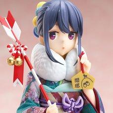 Laid-Back Camp Season 2 Rin Shima: Furisode Ver. 1/7 Scale Figure