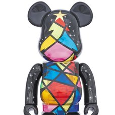 2016 Xmas BE@RBRICK 400% Stained Glass Tree