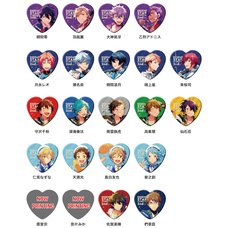 Ensemble Stars! Starry Stage 2nd Character Badge Collection 5-Piece Set