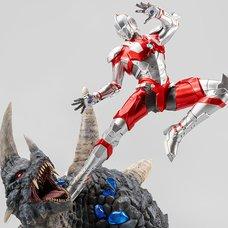 Ultraman vs Black King 1/4 Scale Statue
