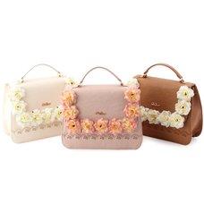 LIZ LISA Rose Corsage 3-Way Bag