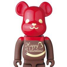 BE@RBRICK 2017 Valentine Chocolat Framboise 400%